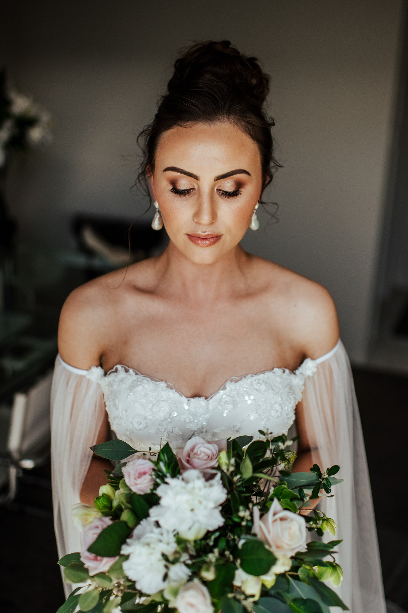 Gabrielle Wedding Wedding makeup