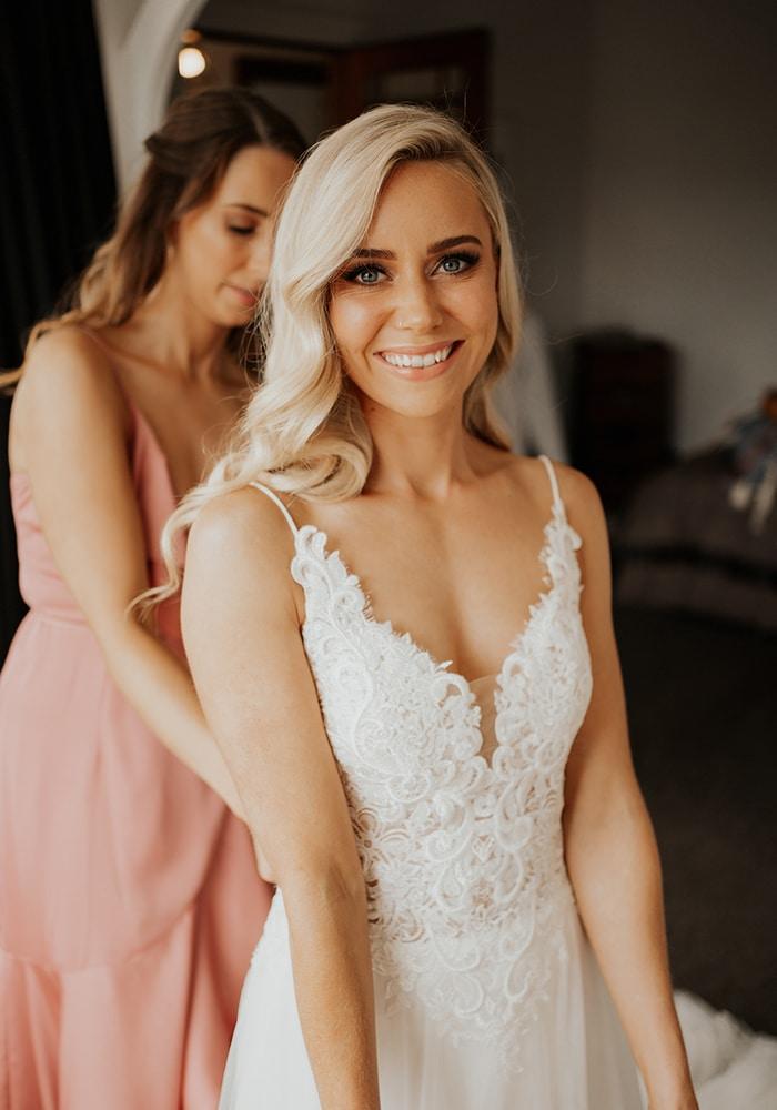Brydie bridal makeup